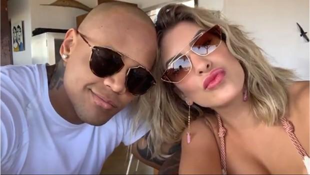 Léo Santana e Lore Improta (Foto: Divulgação)