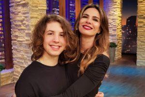 Luciana Gimenez ao lado de Lucas Jagger (Foto: Reprodução)