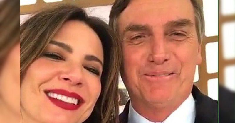 Luciana Gimenez e Jair Bolsonaro (Foto: Divulgação)