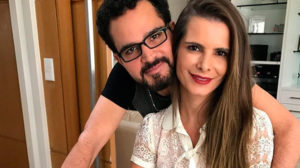 Luciano Camargo se declara à mulher na web - (Reprodução/Instagram)