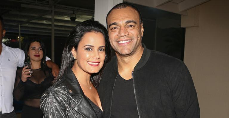Luciele Di Camargo e Denilson (Foto: Divulgação)