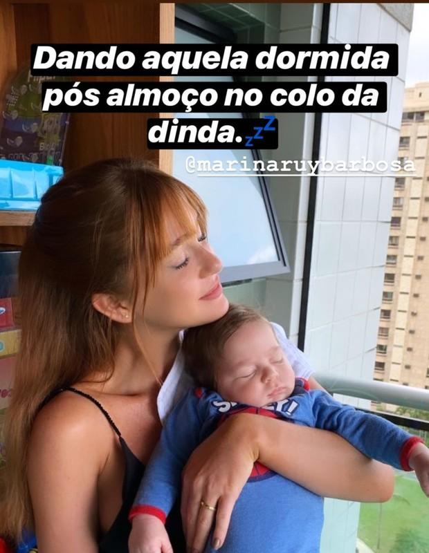 Marina Ruy Barbosa e Luma Costa (Foto: Instagram/Reprodução)