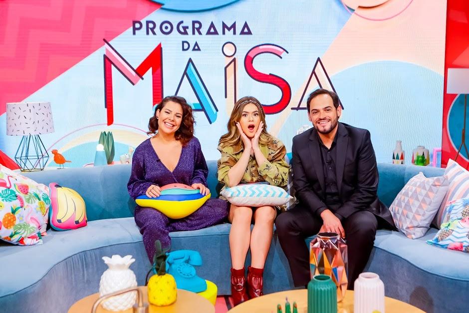 Maisa conta na estreia com Fernanda Souza e Matheus Furlan. (Foto: Gabriel Cardoso)