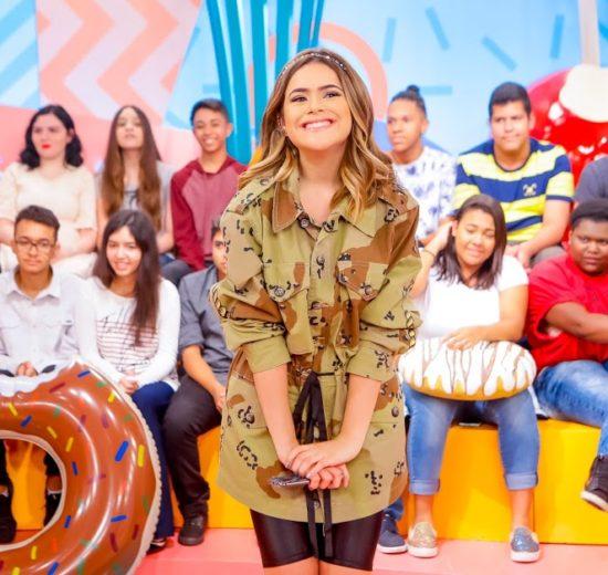 O Programa da Maisa estreia neste sábado, 16, no SBT. (Foto: Gabriel Cardoso/SBT.)