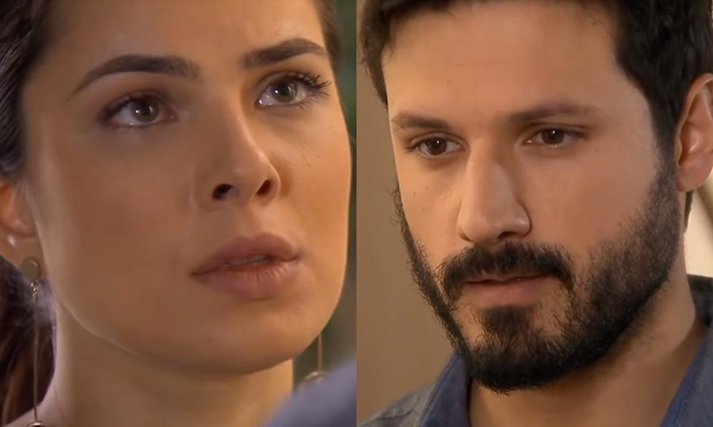 Marcelo (Murilo César) e Luísa (Thaís Melchior) são o casal mais adorado pelo público do SBT em As Aventuras de Poliana
