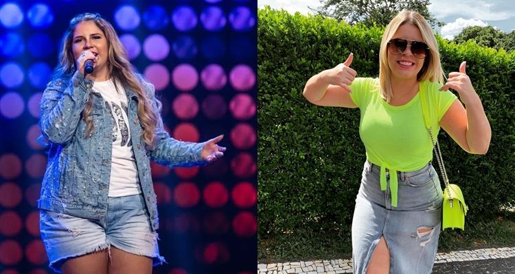 O antes e depois de Marília Mendonça