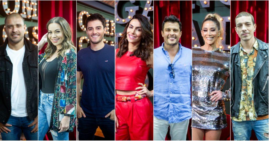 Elenco completo do Show dos Famosos deste ano do Faustão na Globo