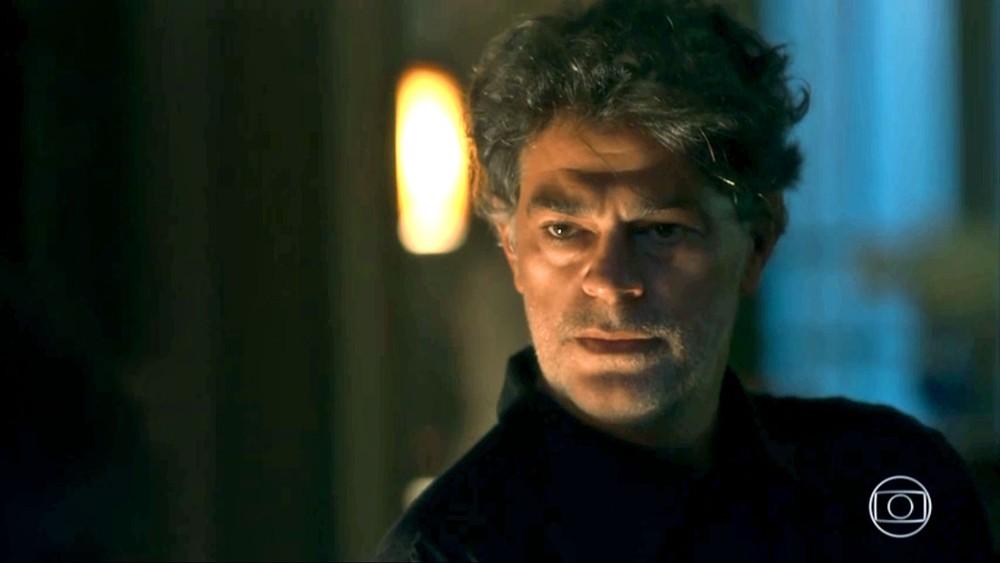 Murilo em cena da novela das 21h, O Sétimo Guardião (Foto: Reprodução)