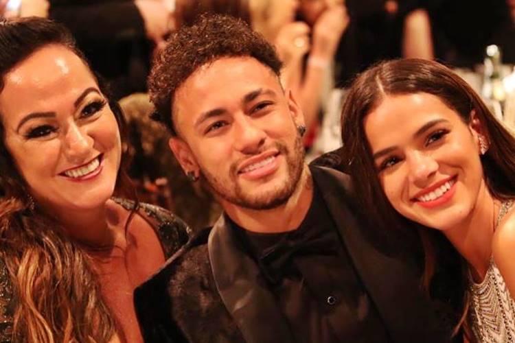 Nadine Gonçalvez, Neymar e Bruna Marquezine (Foto: Divulgação)