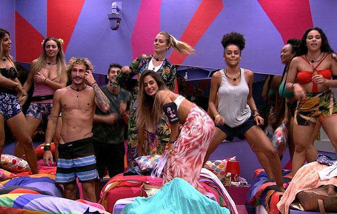 Os participantes do BBB19, programa da Globo (Foto: Reprodução)