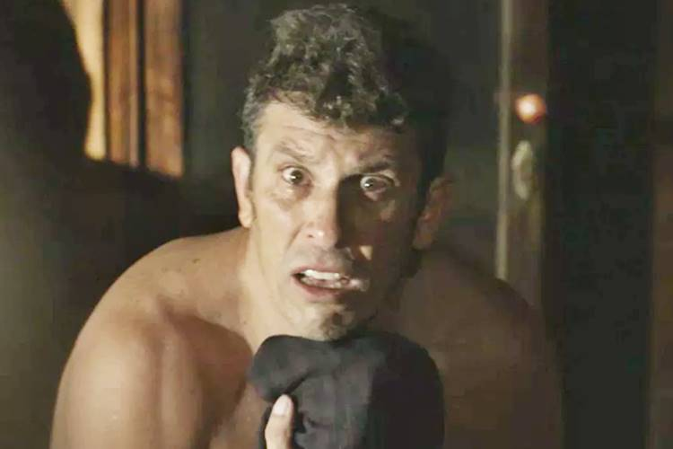 Machado é assassinado na novela O Sétimo Guardião, da Globo (Foto: Reprodução)