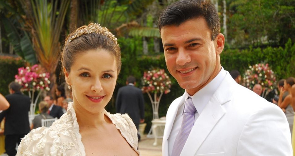Maria e Marcelo, protagonistas de Caminhos do Coração (Foto: Reprodução)