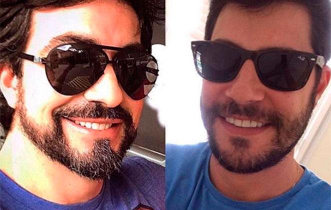 Padre Fábio de Melo e Evaristo Costa (Foto: Divulgação)