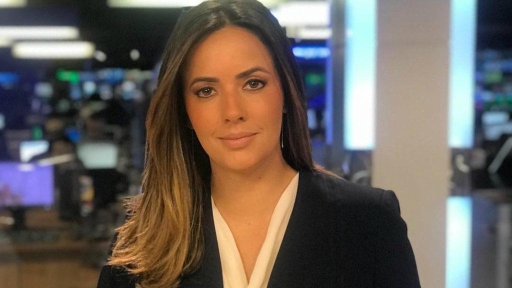 A jornalista e apresentadora Paloma Tocci (Foto: Reprodução/Band)