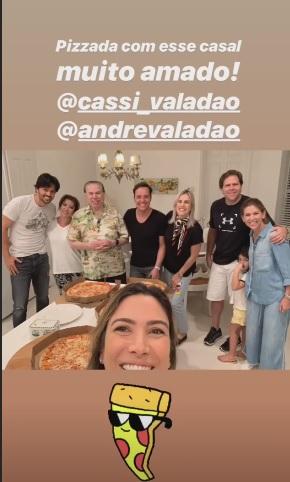 Silvio Santos fugiu da folia do Carnaval com parte da família (Foto: Reprodução/Instagram)
