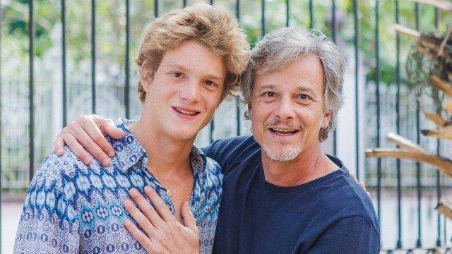Pedro Novaes e o pai, Marcello Novaes, estará em Malhação (Foto: Divulgação)