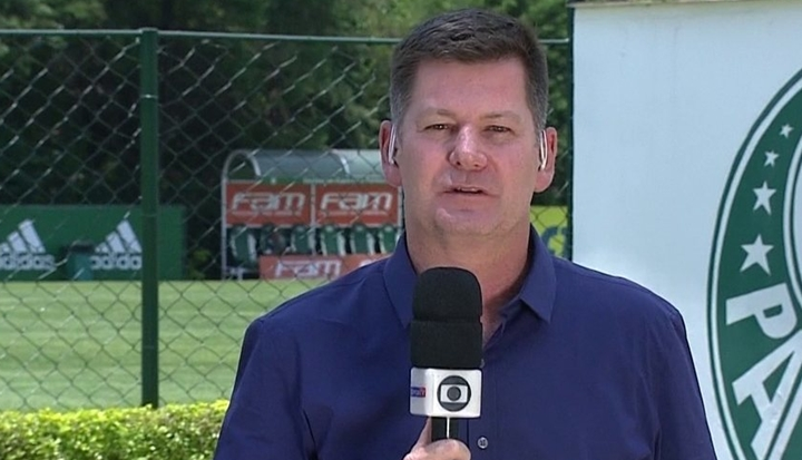 Renato Peters é repórter da Globo. (Foto: Reprodução)