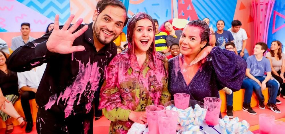 Programa da Maisa com Matheus Ceará e Fernanda Souza (Foto: Divulgação)