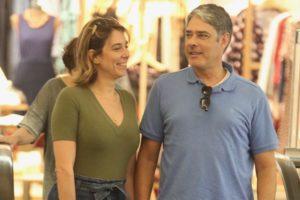 William Bonner e Natasha Dantas (Foto: Thiago Martins / AgNews)