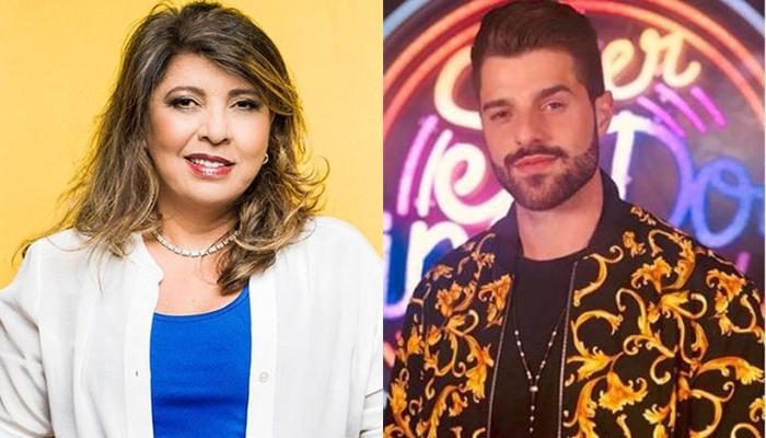 A cantora Roberta Miranda e o DJ Alok (Foto: Divulgação/Reprodução)
