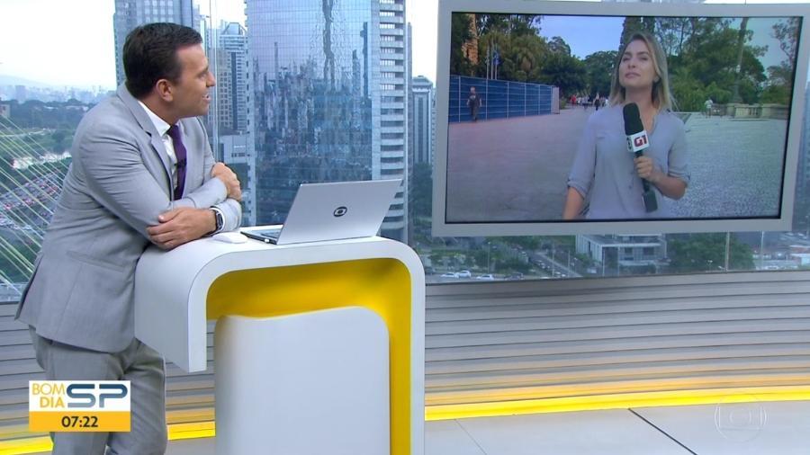 Rodrigo Bocardi na Globo (Foto: Reprodução)