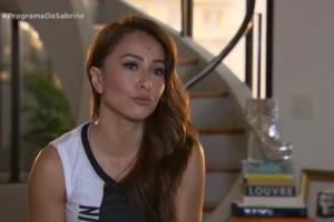 Sabrina Sato ainda não superou o fato de não ter dado à luz a Zoe de forma natural (Foto: Reprodução)