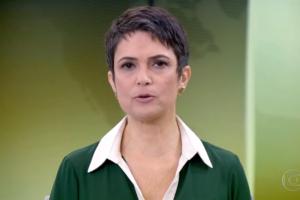 SandraAnnenberg no comando doJornal Hoje (Foto: Reprodução/Globo)