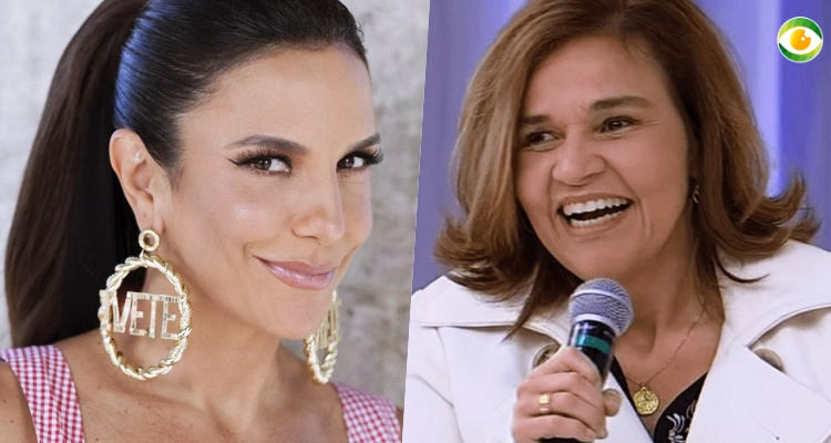 Ivete Sangalo e Claudia Rodrigues se encontraram em Salvador (Foto: Montagem/TV Foco)