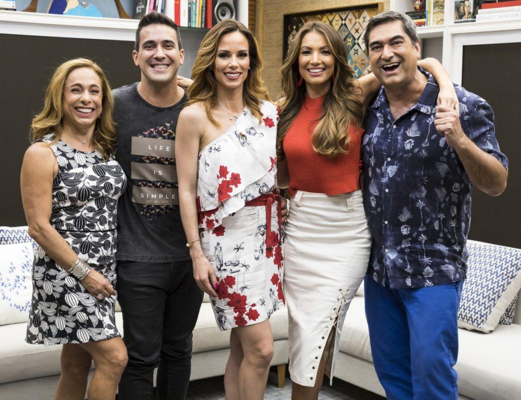 Apresentadores do É De Casa da Globo (Foto: Reprodução)