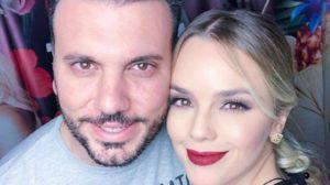 Thaeme Mariôto e o marido, Fábio Elias (Foto: Reprodução/Instagram)