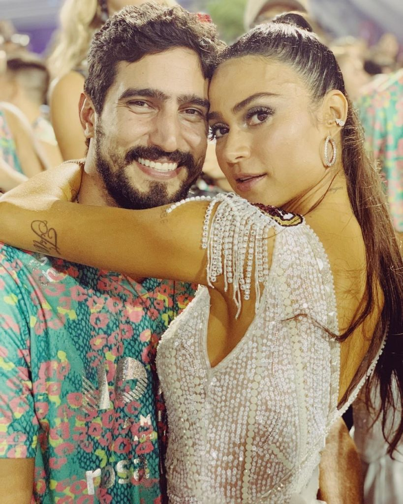 Renato Góes e Thaila Ayala, casório à vista — Foto: Reprodução/Instagram