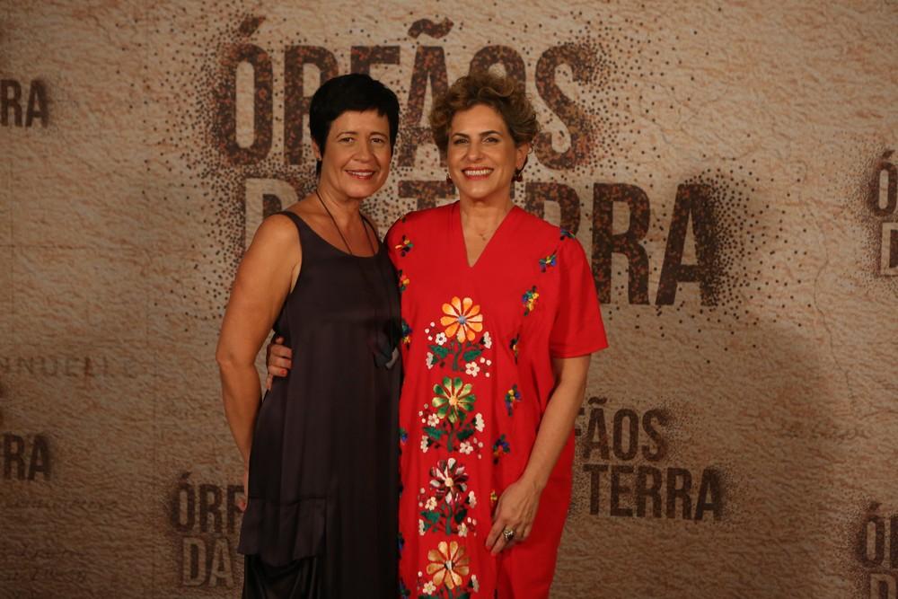 Thelma Guedes e Duca Rachid, autoras de Órfãos da Terra