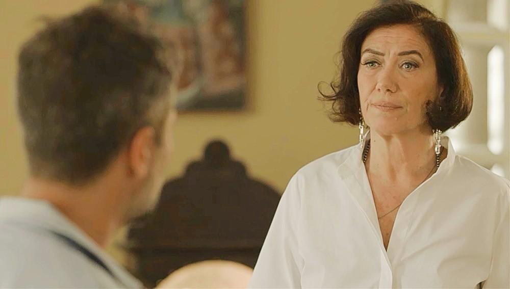 Gabriel e Valentina em cena da novela O Sétimo Guardião (Foto: Reprodução)