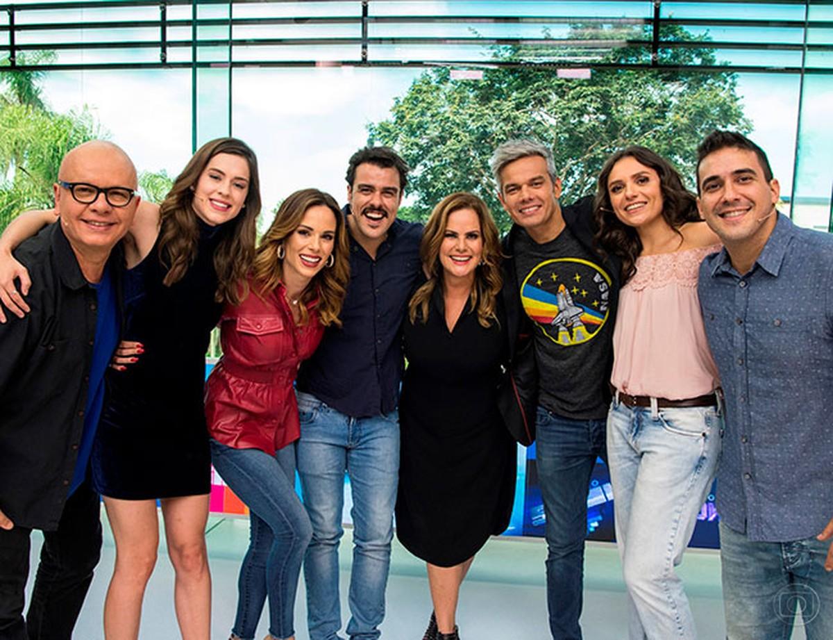 Apresentadores que já passaram pelo Vídeo Show na Globo (Foto: Reprodução)