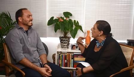 Carlos Bolsonaro e Leda Nagle (Foto: Divulgação)