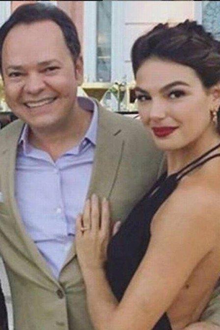 Isis Valverde e ex-empresário (Foto: Reprodução)