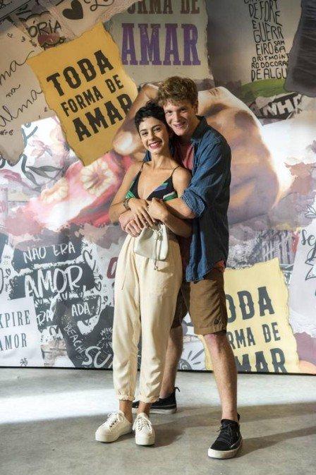 Filipe (Pedro Novaes) e Martinha (Beatriz Damini) em Malhação (Foto: Estevam Avellar/ Globo/Divulgação)