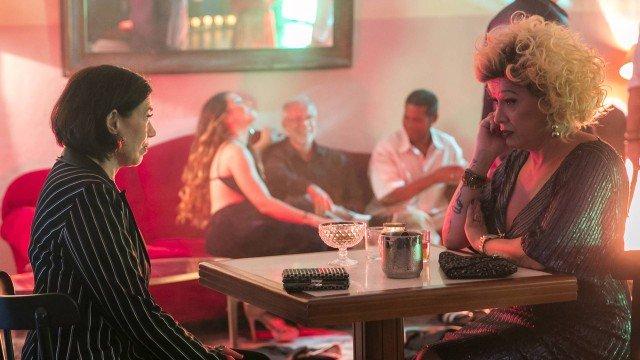 Valentina conversa com Marcos Paulo, em O Sétimo Guardião (Foto: Raquel Cunha/ Globo/ Divulgação)