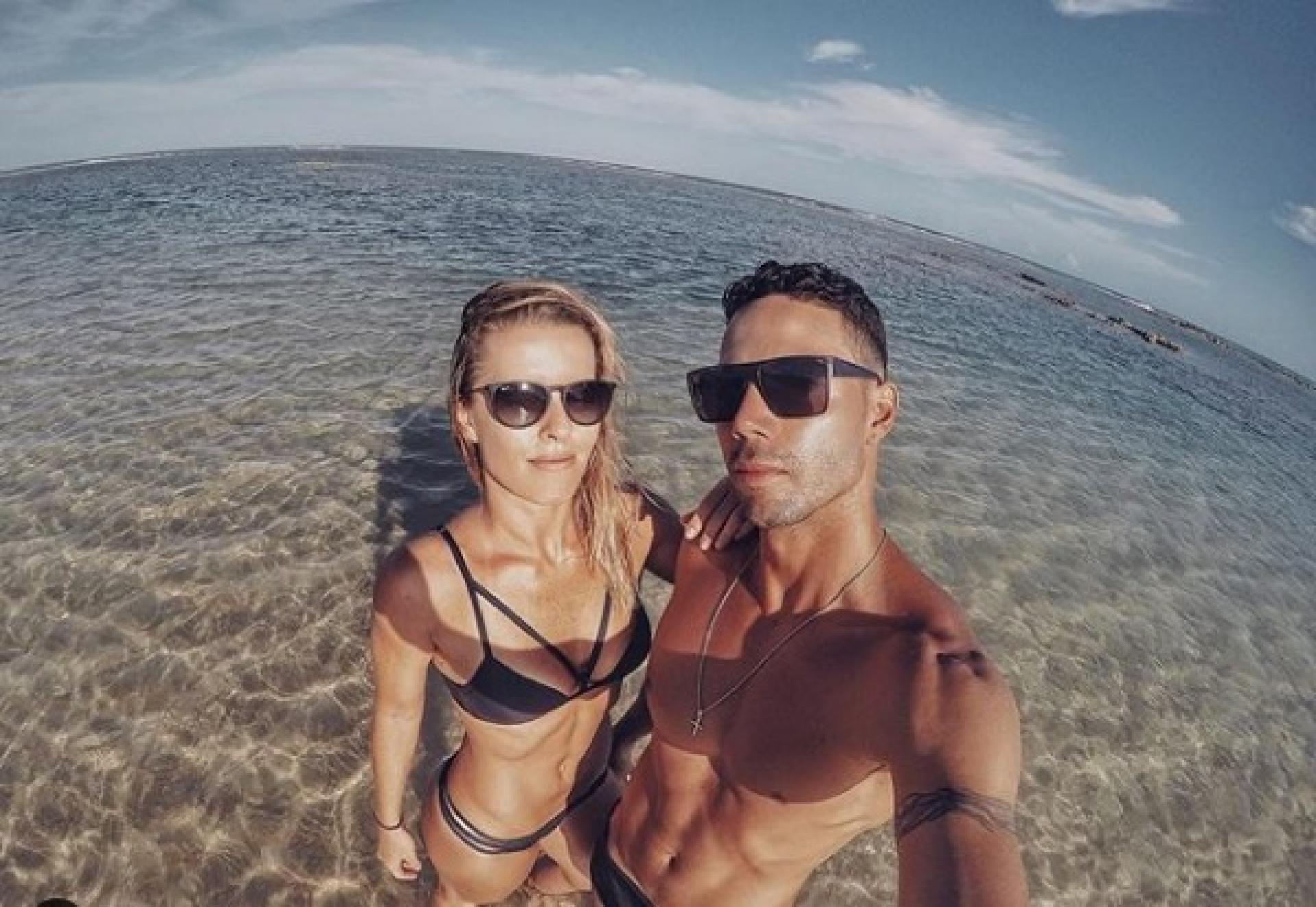 Ju Valcézia e o marido Ricardo Manga (Foto: Reprodução/Instagram)