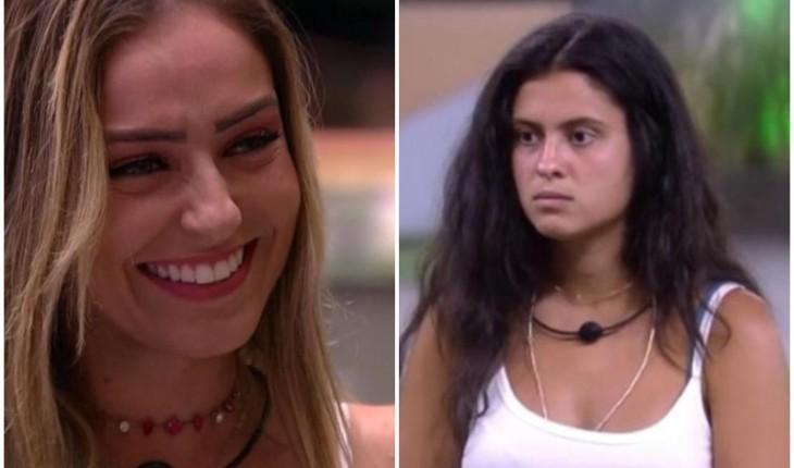 Hana Khalil insultou Paula na final do BBB19 e por pouco não apanhou (Foto: Reprodução)