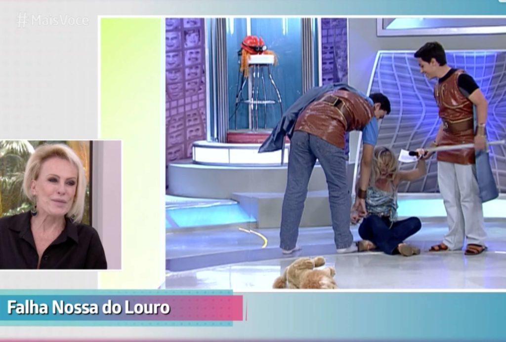 Fátima Bernardes e Ana Maria Braga juntas na Globo contra a Record