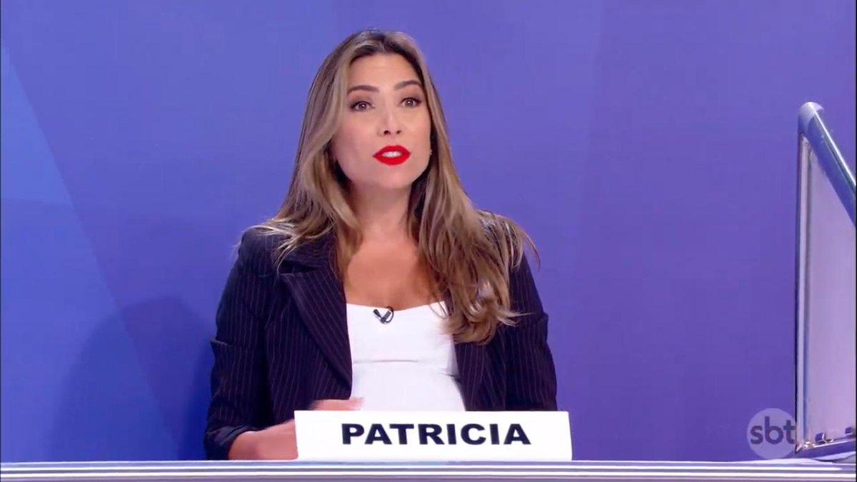 A apresentadora Patrícia Abravanel é uma das filhas de Silvio Santos (Foto: Reprodução)