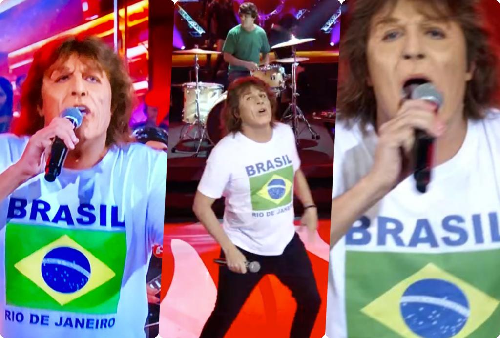 Wellington Muniz, o humorista Ceará, está no Show dos Famosos e fez o cover de Mick Jagger na Globo