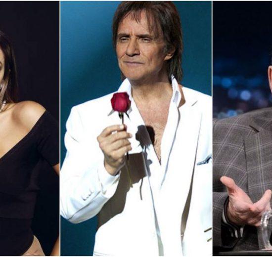 Anitta, Roberto Carlos e Jô Soares são alguns famosos que tiveram suas manias reveladas (Foto: Reprodução/Montagem)