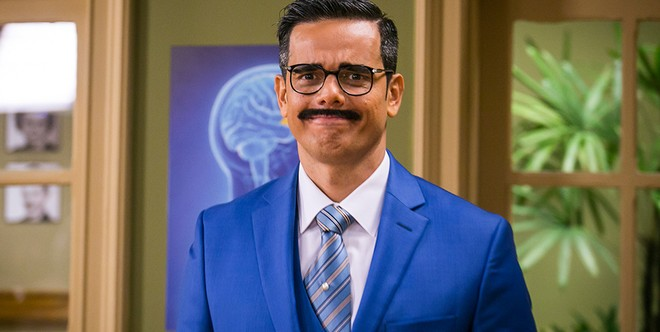 """Otaviano Costa como Ptolomeu na """"Escolinha do Professor Raimundo"""" Imagem: Pedro Curi/TV Globo"""