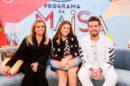 Maisa com seus convidados Christina Rocha e Gustavo Mioto