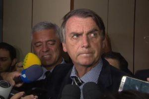 O presidente Jair Bolsonaro durante campanha, no ano passado (Foto: Reprodução)