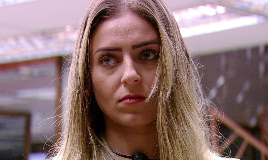 Paula no BBB19, da Globo (Foto: Reprodução)