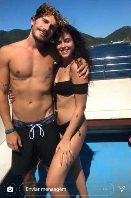 Alan e Hana (Foto: Reprodução/Instagram)