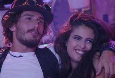 Alan e Hana no BBB 19 (Foto: Divulgação/TV Globo)